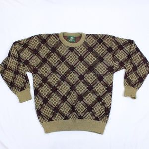 90's Jantzen Large Knit Sweater MADE IN USA